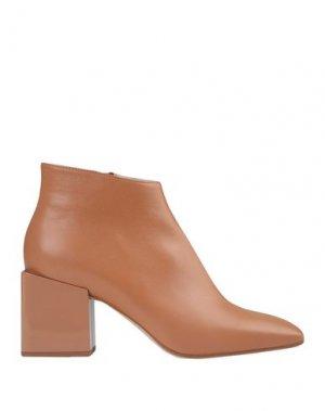 Полусапоги и высокие ботинки GIAMPAOLO VIOZZI. Цвет: желто-коричневый