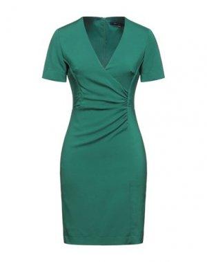 Короткое платье FRENCH CONNECTION. Цвет: изумрудно-зеленый