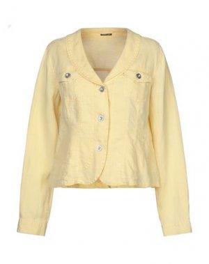Куртка BARBARA LEBEK. Цвет: желтый