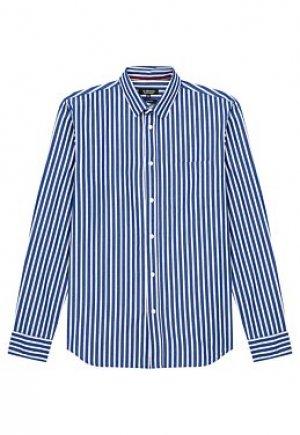Рубашка в полоску Al Franco