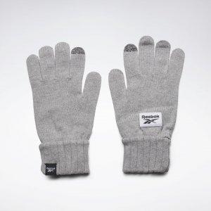 Перчатки Active Foundation Knit Reebok. Цвет: medium grey heather