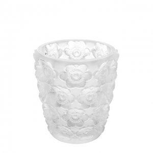 Подсвечник Anemones Lalique. Цвет: прозрачный