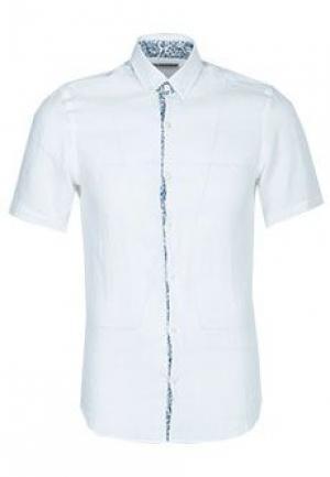 Рубашка AZZARO. Цвет: белый
