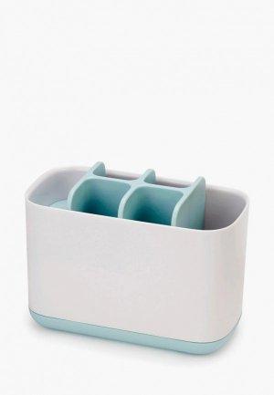 Стакан для зубных щеток Joseph EasyStore. Цвет: белый