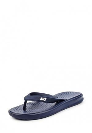 Сланцы Nike Mens Solay Thong. Цвет: синий
