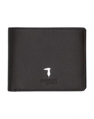 Бумажник TRUSSARDI JEANS. Цвет: темно-коричневый
