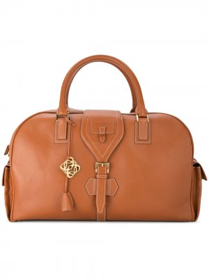 Дорожная сумка Jumbo XL 2way с логотипом Loewe Pre-Owned. Цвет: коричневый