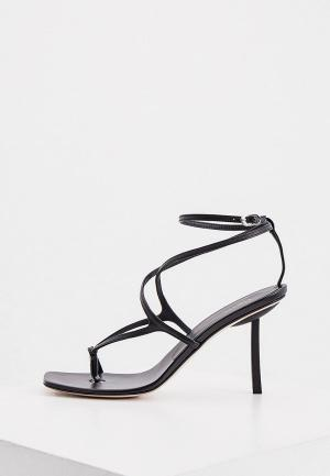 Босоножки Le Silla. Цвет: черный