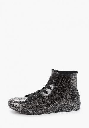 Резиновые ботинки Mon Ami. Цвет: серебряный