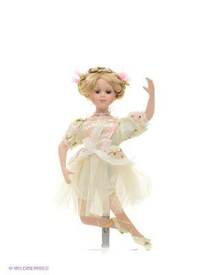 Кукла фарфор Балерина 14 дюймов Angel Collection. Цвет: белый