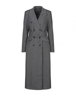 Легкое пальто VANESSA SCOTT. Цвет: свинцово-серый