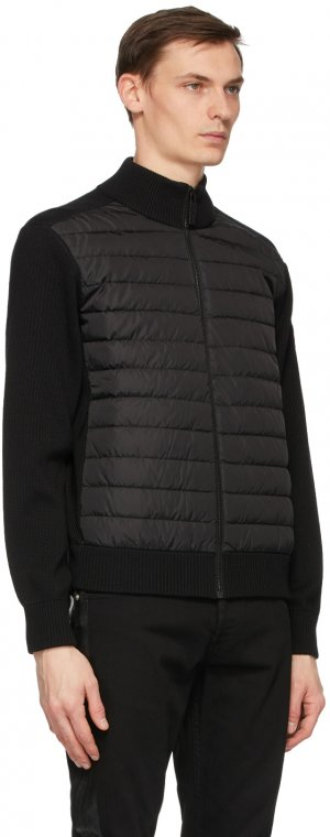 Black Down Hybridge Jacket Canada Goose. Цвет: black