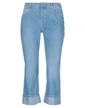 Джинсовые брюки-капри TRUE NYC®. Цвет: синий