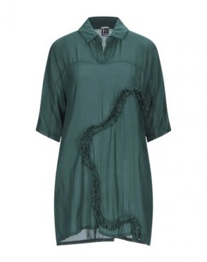 Блузка I'M ISOLA MARRAS. Цвет: темно-зеленый