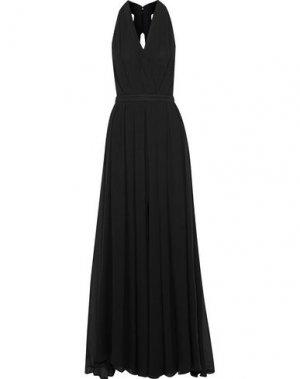 Длинное платье L'AGENCE. Цвет: черный