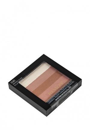 Хайлайтер Revlon Для Лица Highlighting Palette Bronze glow 030. Цвет: бежевый