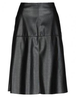 Юбка длиной 3/4 CLIPS. Цвет: черный