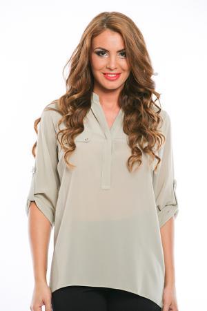 Блузка Ines Collezione. Цвет: серый