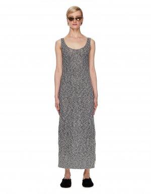 Вязаное платье из микса льна и хлопка Ys