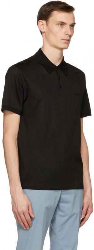 Black Logo Polo Brioni. Цвет: 1000 black