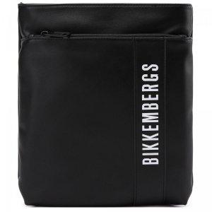 Сумка Bikkembergs. Цвет: чёрный