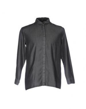 Pубашка DENHAM. Цвет: серый