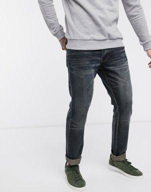 Узкие джинсы цвета индиго -Синий Bellfield