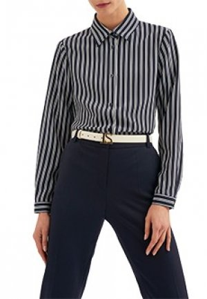Блуза LUISA SPAGNOLI. Цвет: синий