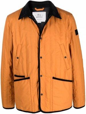 Куртка-рубашка Barrier Woolrich. Цвет: оранжевый