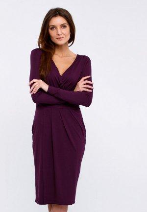 Платье Апрель. Цвет: фиолетовый