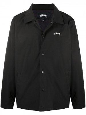 Куртка Classic Coach Stussy. Цвет: черный