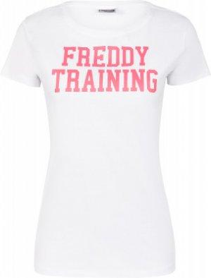Футболка женская , размер 48-50 Freddy. Цвет: белый