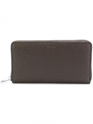 Бумажник Selen Bally. Цвет: коричневый