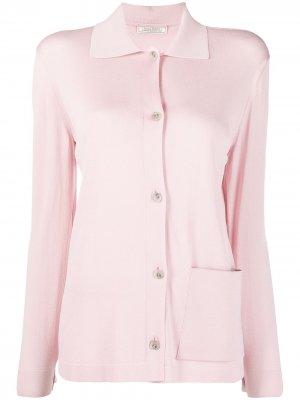 Кардиган с накладным карманом Nina Ricci. Цвет: розовый