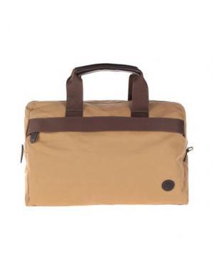 Дорожная сумка TIMBERLAND. Цвет: коричневый