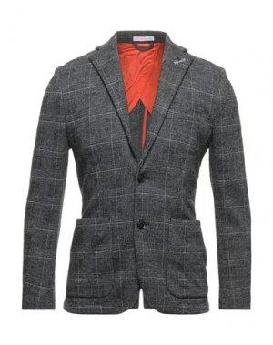 Пиджак SUN 68. Цвет: стальной серый
