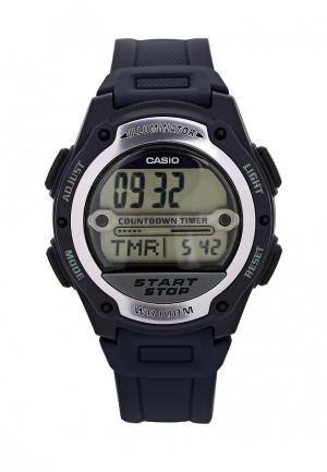 Часы Casio Collection W-756-2A. Цвет: синий