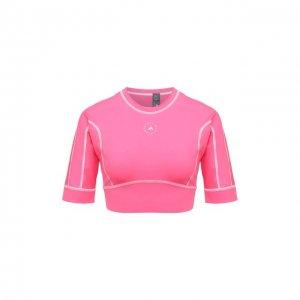 Топ adidas by Stella McCartney. Цвет: розовый