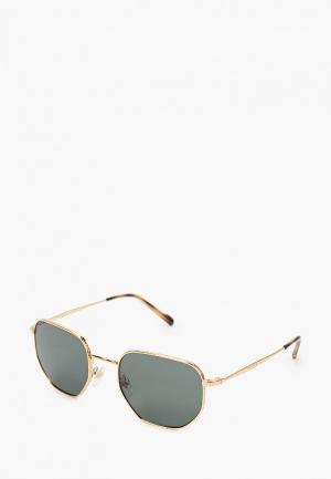 Очки солнцезащитные Vogue® Eyewear VO4186S 280/71. Цвет: золотой