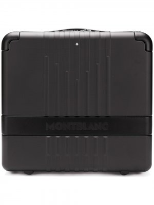 Чемодан #MY4810 Montblanc. Цвет: черный