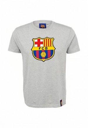 Футболка FC Barcelona FC001EMASB47. Цвет: серый