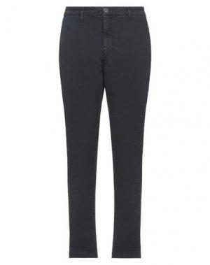Повседневные брюки BOMBOOGIE. Цвет: черный