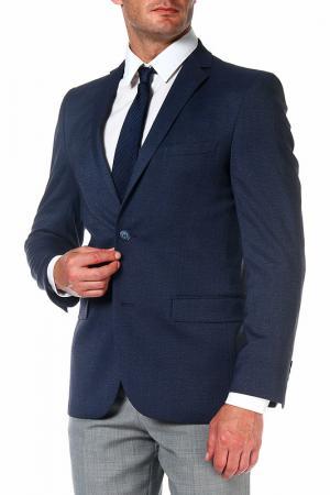 Пиджак mishelin. Цвет: серо-голубой