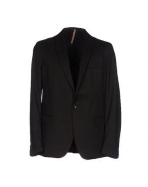 Пиджак L(!)W BRAND. Цвет: темно-коричневый