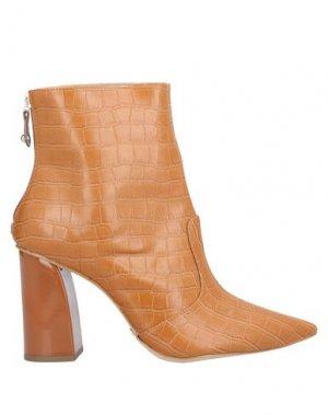Полусапоги и высокие ботинки CECCONELLO. Цвет: желто-коричневый