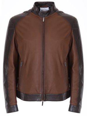 Куртка кожаная MORESCHI