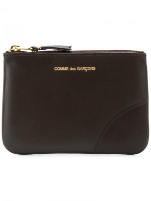Классический клатч Comme Des Garçons Wallet. Цвет: коричневый