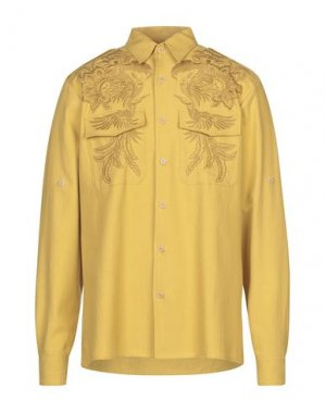 Pубашка DRIES VAN NOTEN. Цвет: желтый