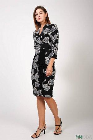Вечернее платье Joseph Ribkoff. Цвет: разноцветный