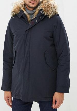 Куртка утепленная Canadian TERRANOVA. Цвет: черный